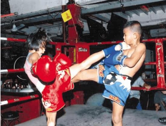 Pet Jee Jaa O. Mee Khun - Muay Thai Fighter - Teep