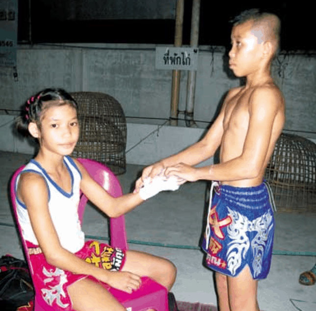 Pet Jee Jaa O. Mee Khun - Muay Thai Fighter photo - Teep