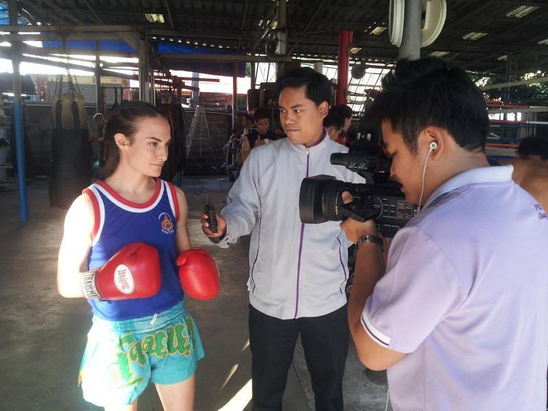 Sylvie von Duuglas-Ittu - Interview by Aeem Witit - Muay Dee Wi Tee Thai JPEG