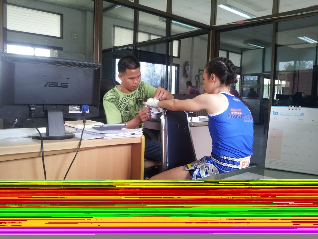 Neung Wrapping Hands - Muay Thai Government Office