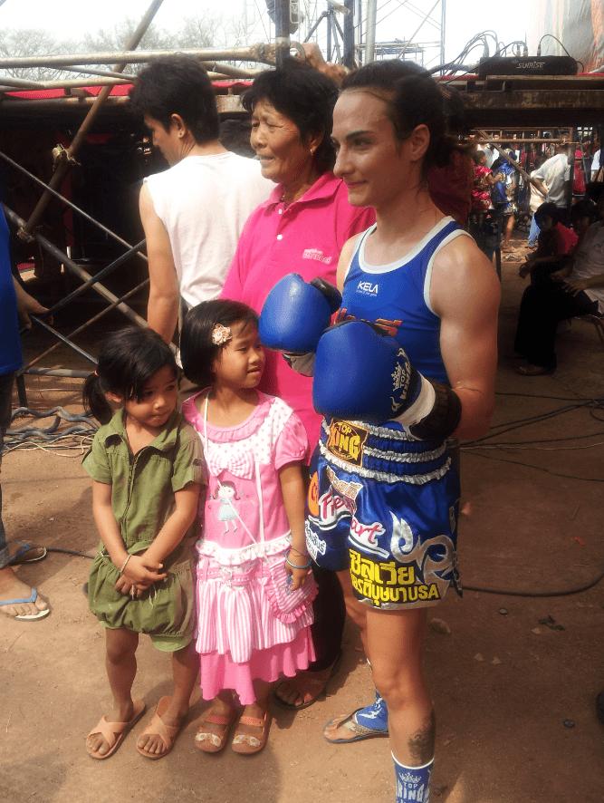 Two Thai Girls Before the Fight - Muay Thai - Sylvie von Duuglas-Ittu - Isaan