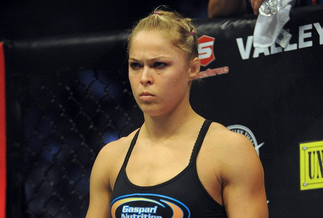 Ronda Rousey - Game Face - Female MMA - UFC