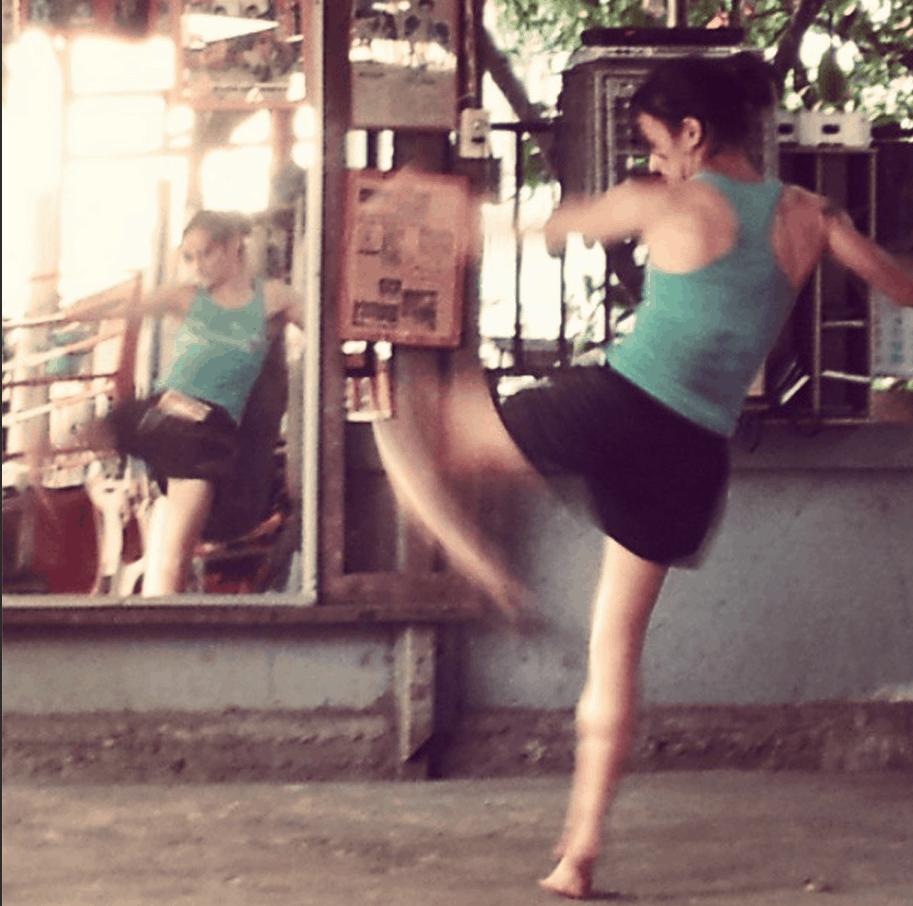 Sylvie von Duuglas-Ittu - In the Gym - Muay Thai
