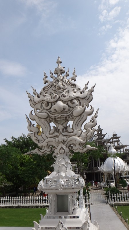 Demon Face - Wat Rong Khun The White Temple