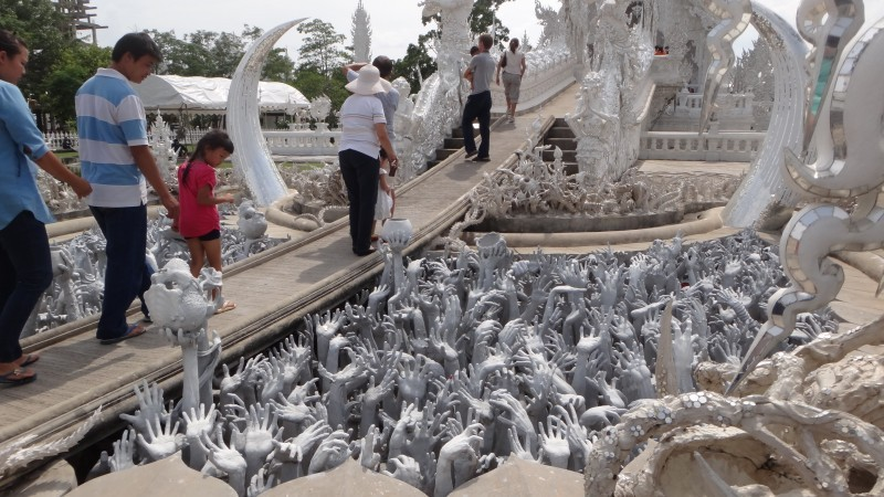 Hands of Hell - Wat Rong Khun The White Temple
