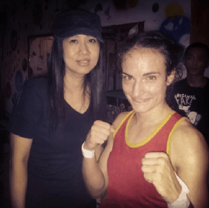 Pook and Sylvie von Duuglas-Ittu - Muay Thai - Mong Pearl