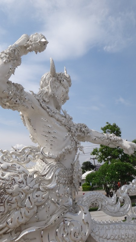 Temple Guardian Wat Rong Khun The White Temple