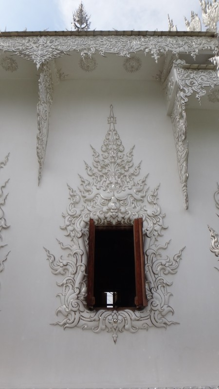 Window - Wat Rong Khun The White Temple