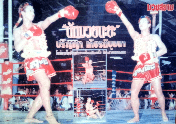 Nong Toom - Beautiful Boxer - Lanna Muay Thai newspaper small