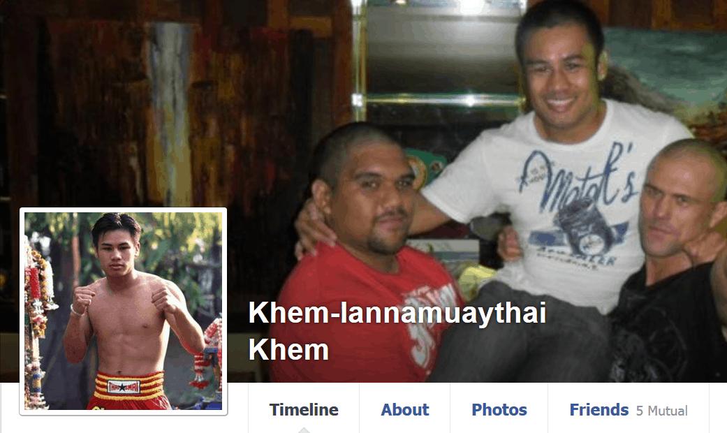 Khem Lanna Muay Thai - Help a Champion Facebook