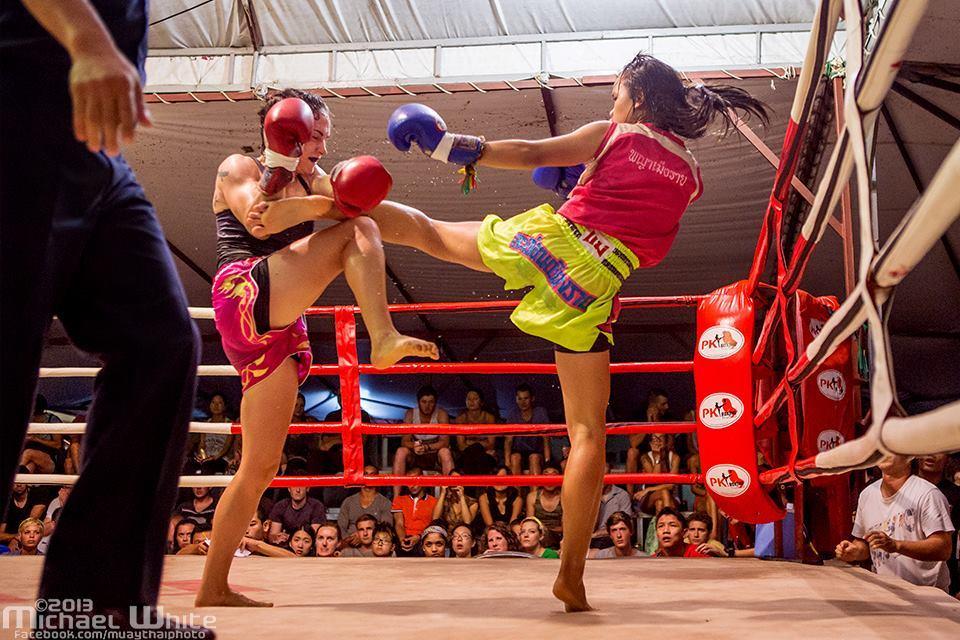 Michael White - Sylvie von Duuglas-Ittu Muay Thai