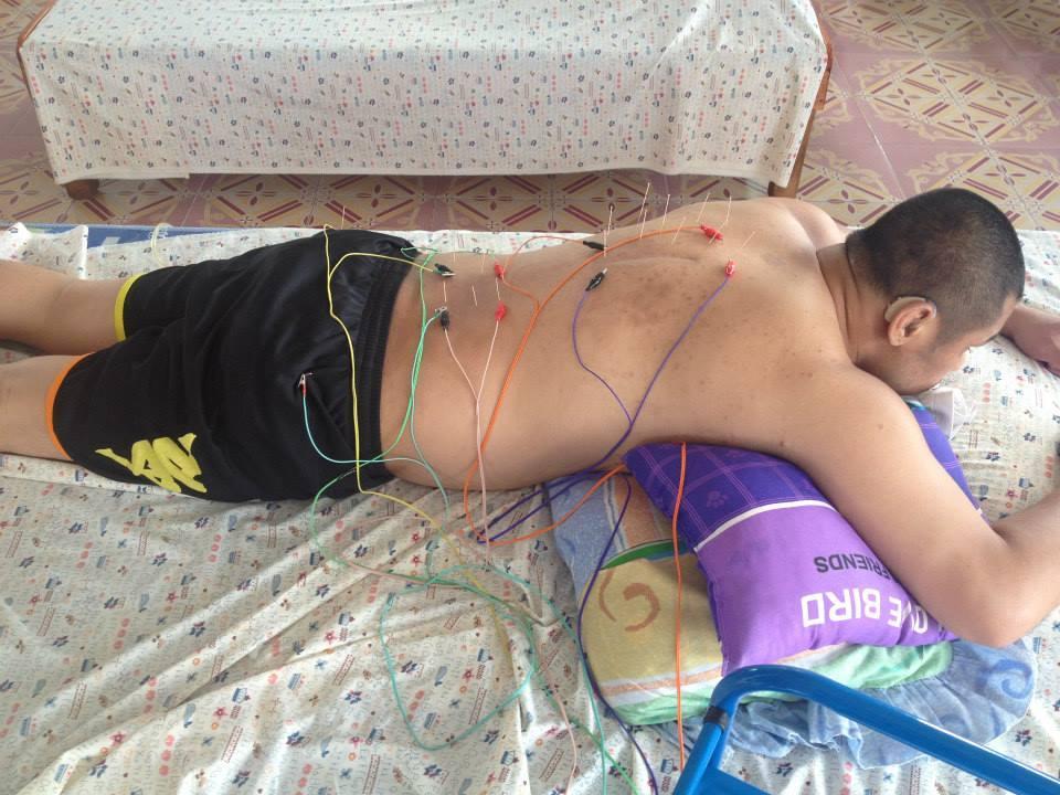 Khem Lanna Muay Thai - Help a Champion - Physical Therapy