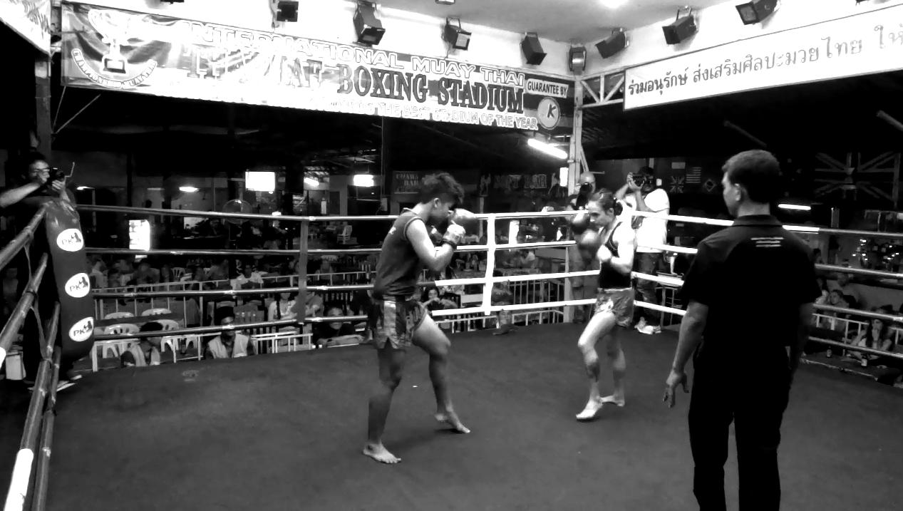 Fight 54 - Sylvie von Duuglas-Ittu - Round 1 face off