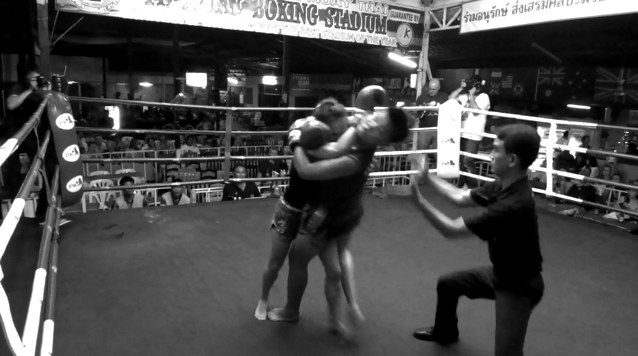 Fight 54 - Thapae Stadium - Sylvie von Duuglas-Ittu - Round 2 - Forcing the Issue