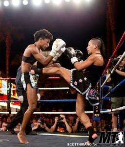 Moe Travis-Longoria - vs. Angela Hill - Lion Fight Promotions