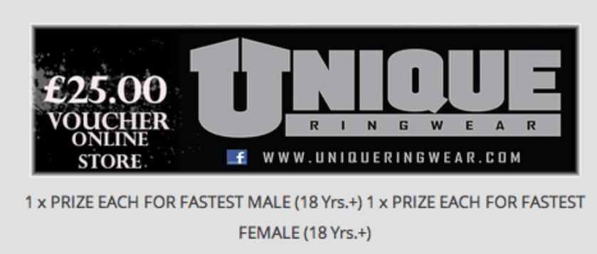 Fastest Female - 50 Kick Competion