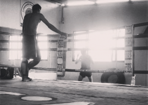Watching over Shadowboxing - Muay Thai Sakmongkol
