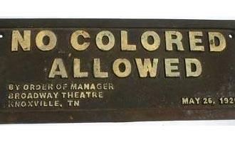 no coloreds