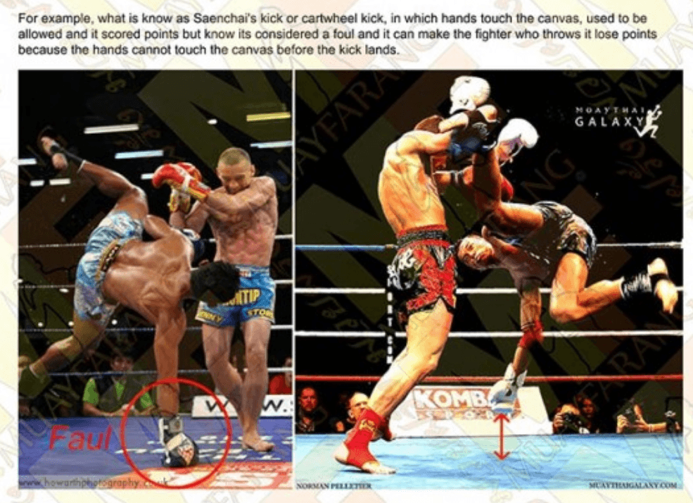Saenchai Cartwheel Kick - Muay Thai