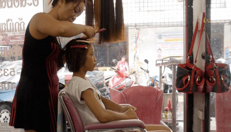 PhetJee Jaa - Getting Hair Done - Ying Ross
