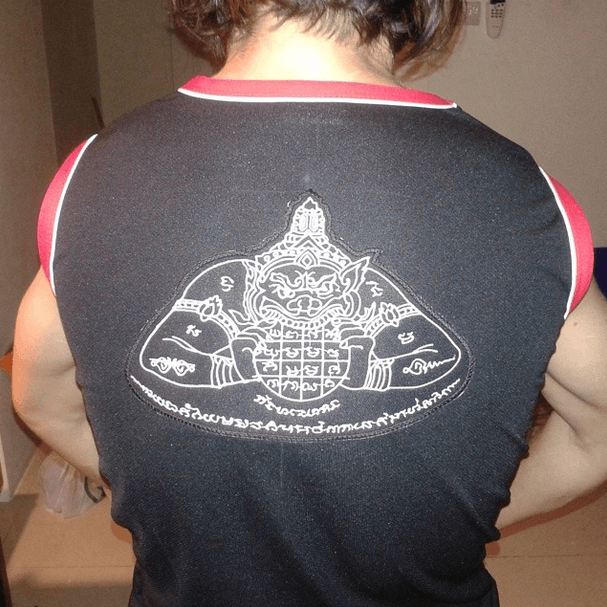 Rahu Sak Yant - Muay Thai Fight Top - Chiang Mai Thailad