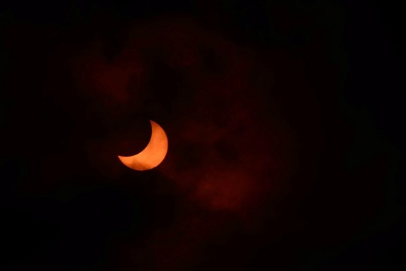 April 29th - Partial Eclipse of the Sun