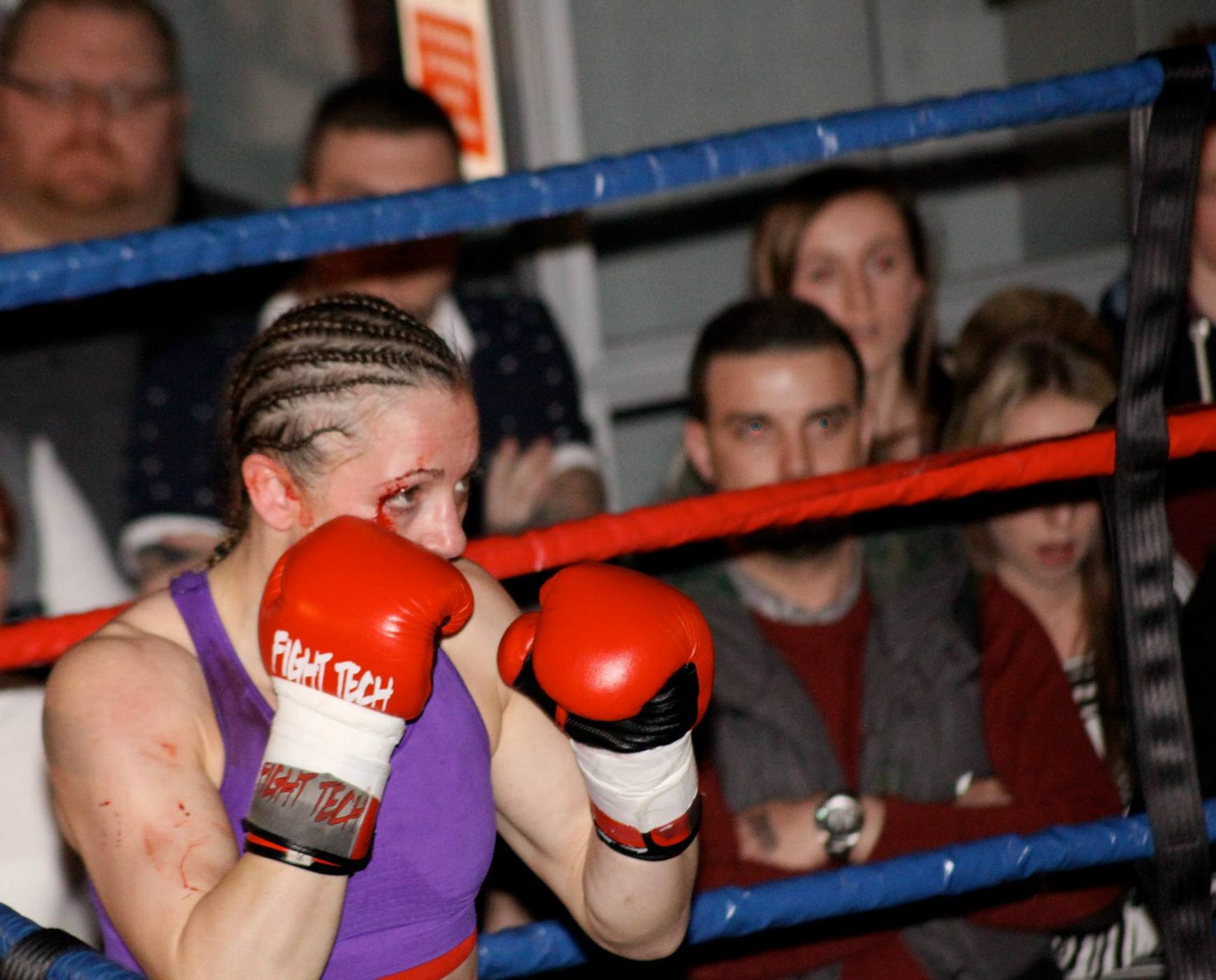 Alexis Rufus vs Christi Brereton (UK), February 22, 2014