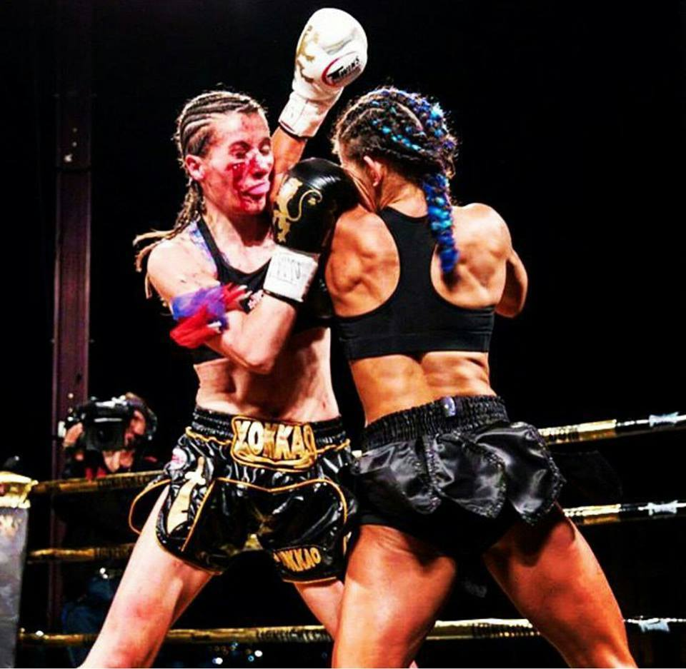 Bernise Alldis vs Tiffany van Soest - Bloody Fight