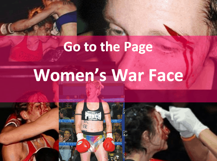 Go to the Page Women's War Face