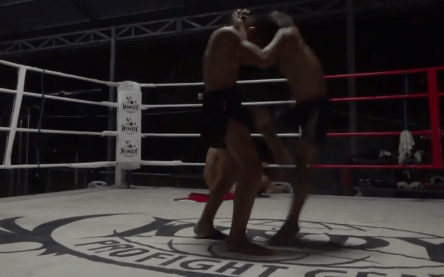 Muay Thai Clinch - O Meekhun - Mawin and Ou