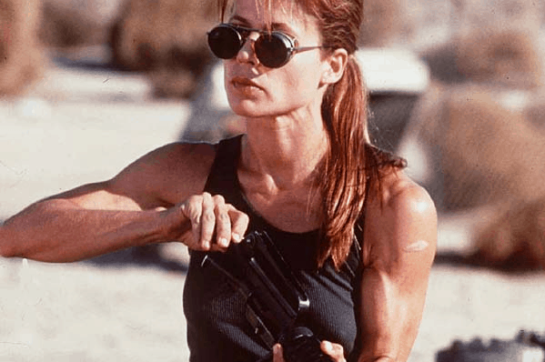 Sarah Conner Terminator 2 - Body Inspiration