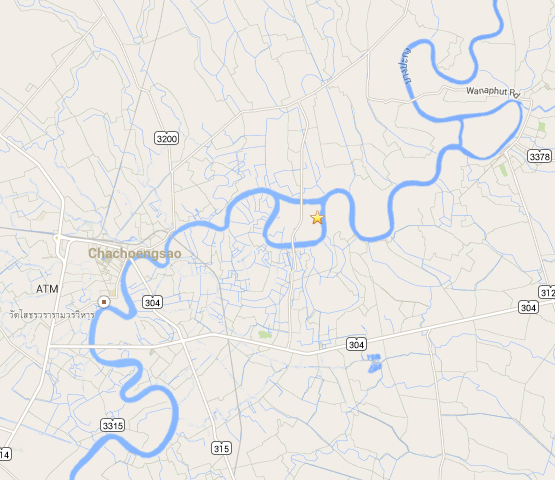 Google Map link to Wat Samanrattanaram
