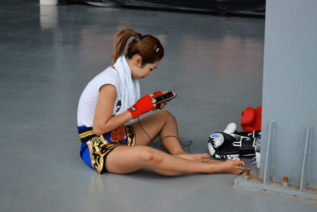 Lindsey Newhall - Fightland - Muay Thai