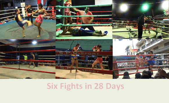 6 Fights in 28 days - Sylvie von Duuglas-Ittu
