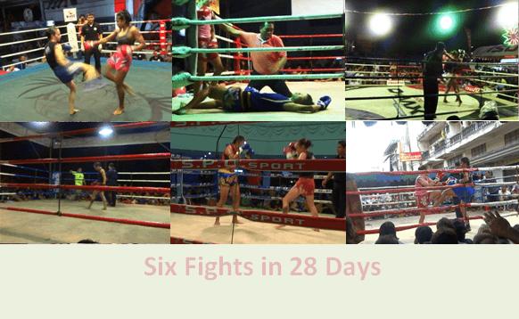 6 Fights in 28 days - Sylvie von Duuglas-Ittu