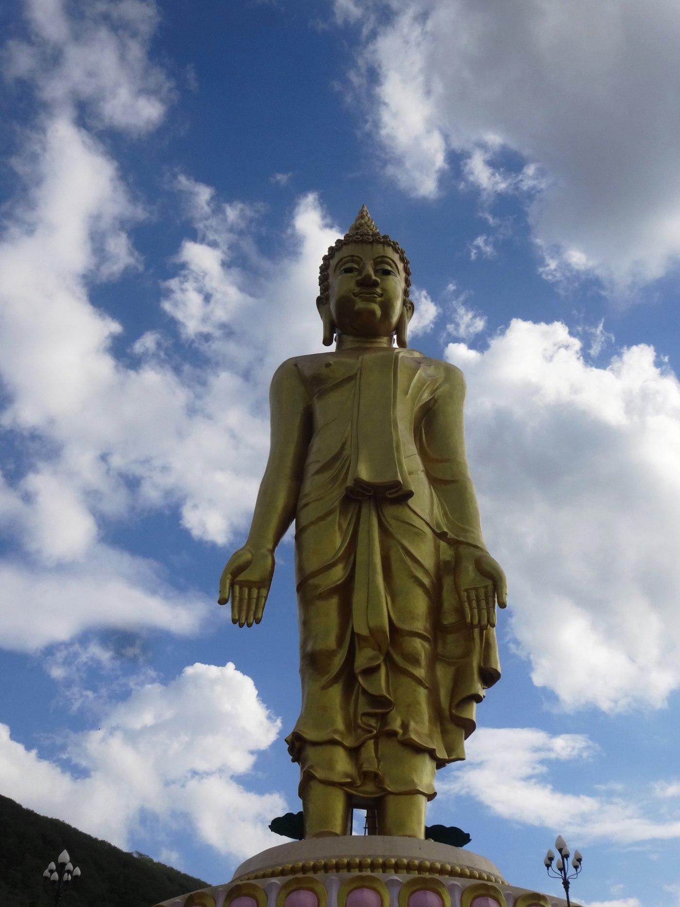 Giant Buddha and Sky 4