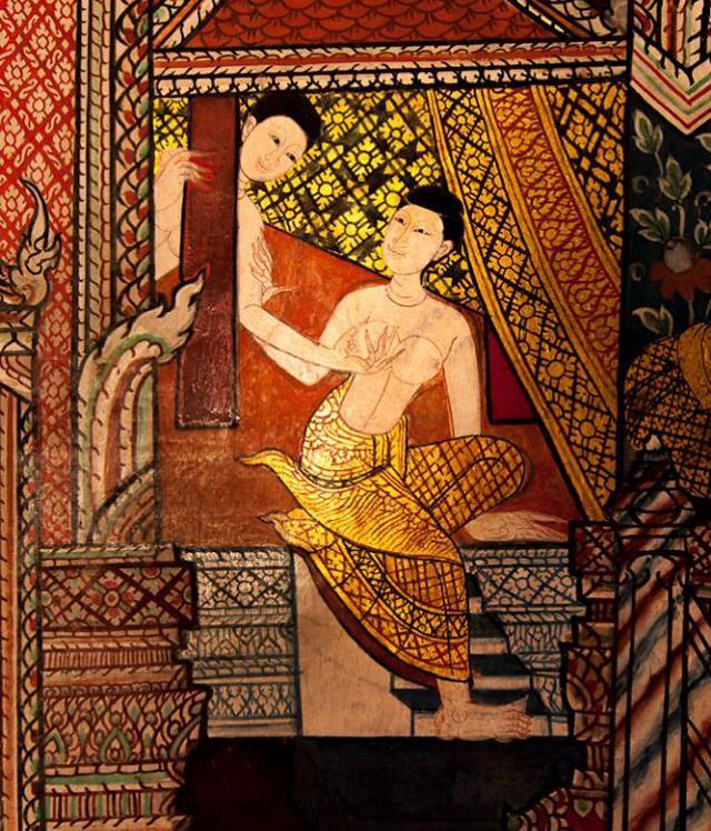 Lesbian love an affront to Thai culture? This is a temple mural. Amorous and sex scenes are common in Thai temple murals. - Kaewmala commentary