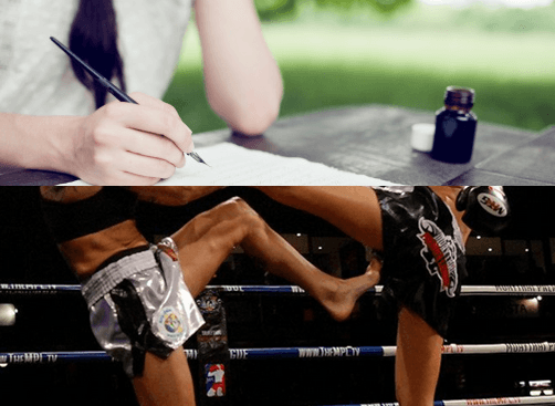 Female Muay Thai - Correspondence