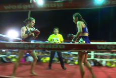 Fight 99 - Sylvie von Duuglas-Ittu vs Daenraam Tor. Namchai - King's Birthday Fight