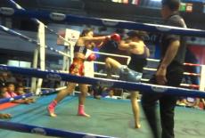 Yodcherry Sityodtong vs Sylvie von Duuglas-Ittu - Thepprasit Stadium - Fight 100