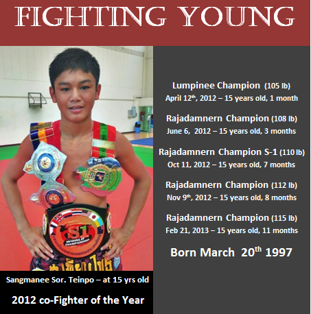 Fighting Young - Sangmanee Fighter of the Year