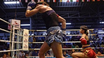 Masculine Physique - Female Muay Thai - Sylvie