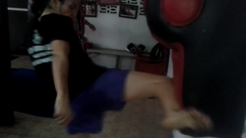 Muay Thai Kicking Form - Sylvie von Duuglas-Ittu - Kaensak