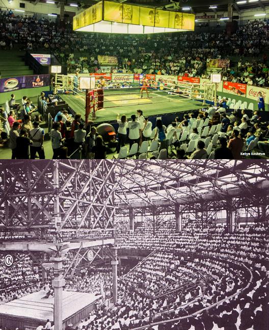 Rajadamnern Stadium - Old and New - Bangkok Muay Thai
