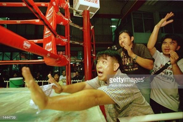 Corner Excitment - Rangsit Stadium - May 2000