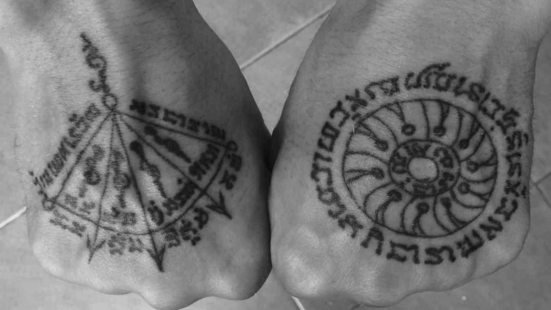 Arjan Pi Bangkating - Hand Sak Yant - Hand Tattoos-w1400