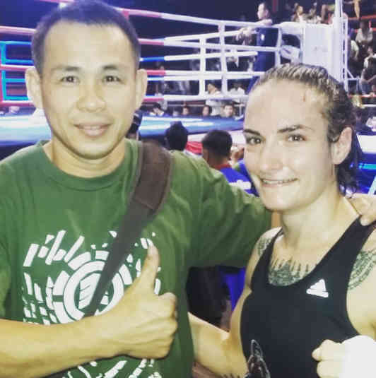 Daeng and Sylvie - Fight 133 - Lanna Muay Thai-w1400