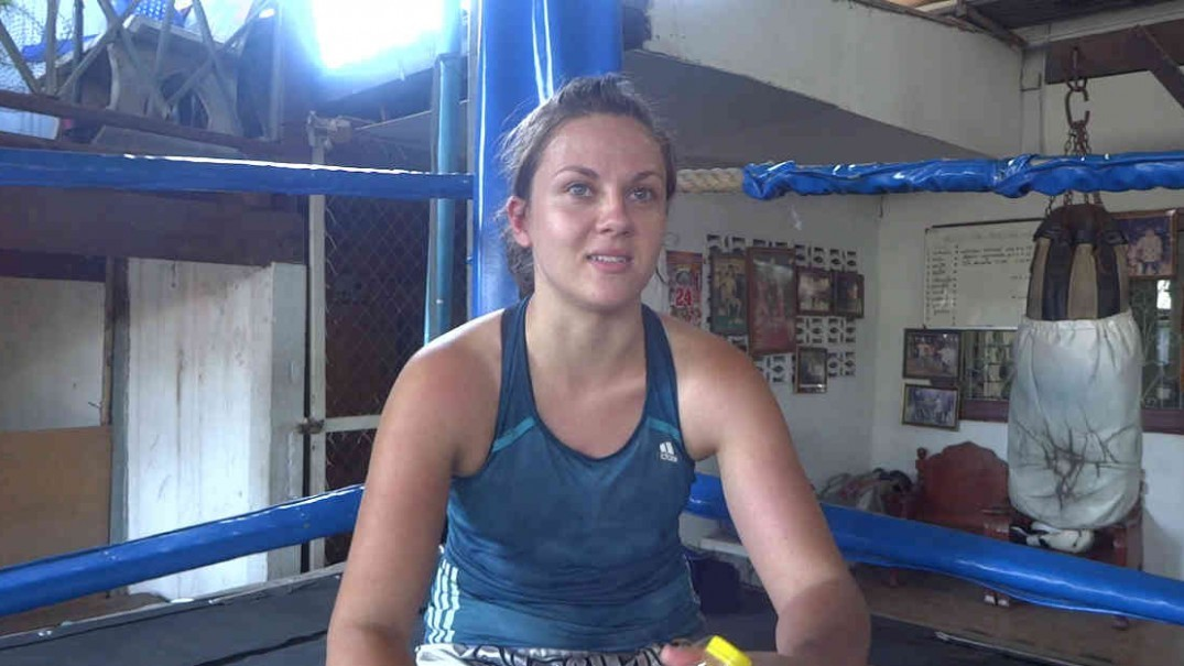 Emma Thomas Female Muay Thai Fighter - Interview-w1400