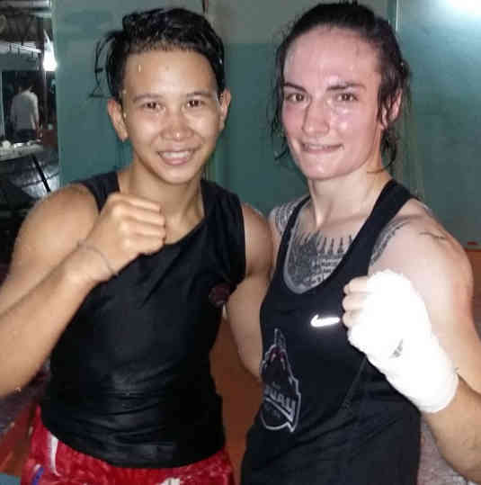 Loma Lookboonmee and Sylvie von Duuglas-Ittu - Fight-w1400