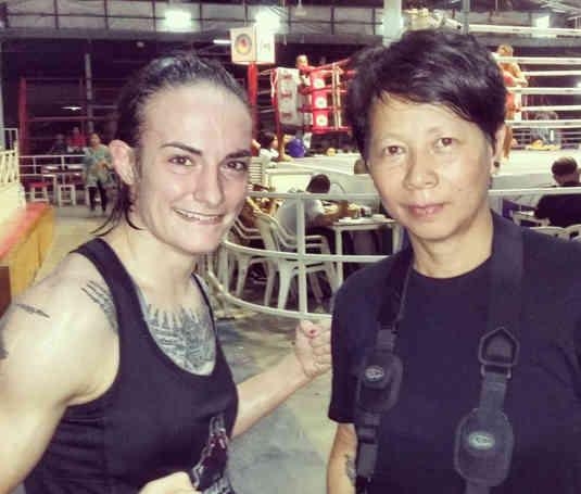 Fight 138 - Sylvie von Duuglas-Ittu and Ying Ross-w1400